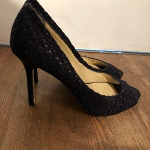 Shoes - 🎁Enzo Angiolini Sparkle peeptoe shoes...WOW!!